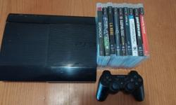 Playstation 3 latest superslim console for sale with