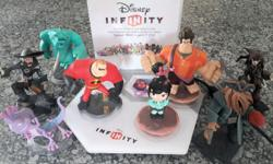 PS3 Disney Infinity pack incl 8 characters. All in