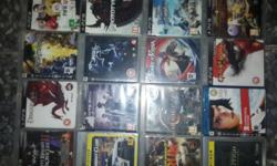 Ps3 Games For Sale (All Games have no scratches and are
