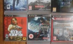 PS3 games for sale. Please contact for price. No