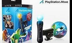 The pack contains a PlayStation Move motion controller,