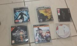 X1 PS3 slim 320gig console x1 remote x 6 games 2 of the