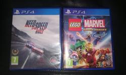 I have two ps4 games in great condition to sell or
