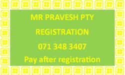 Pty registrations- 0713483407   Instant Pty