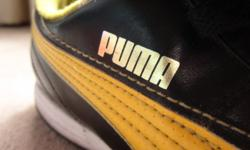 Puma Hockey/Soccer boots Size 8 Very good Condition All