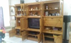 Pure Oak wood Can be used for a TV Unit Or storage