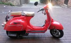 Puzey classic, 150cc, 4000kms, immaculate condition and