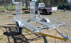 New quad-bike trailer for sale. Hot dipped galvanized,