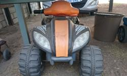 Kiddies electric quad bike for sale. In good working