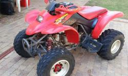 Honda TRX250 quad for sale with papers @ R9000.00 -