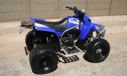 amaha Blaster 200, 2 Stroke Quad Bike, loads of fun,