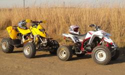 I have a 2005 Yamaha Blaster 200 & 2001 Bombardier Ds