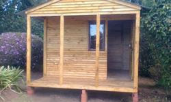 we manufacture all sizes wendy houses which are made