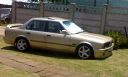 Beskrywing URGENT SALE 87 BMW E30 325i AUTO OR SWOP FOR