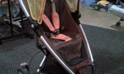 Gorgeous Quinny Zapp stroller together with a Maxi Cosi