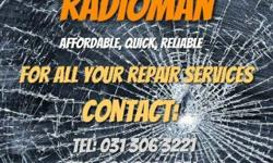RADIOMAN Affordable, Quick, Reliable Offering repair
