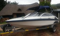 181 Raven Infinity with 125 Mercury. Boat and engen