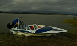 RAVEN SKI BOAT FOR SALE.REASON FOR SALE.HAVE TO MANY