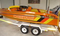 Hi there, Raven speed/ski boat for sale with 100HP