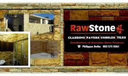 Rawstone manufactures cobbles for driveways, pool