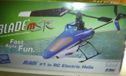 Beskrywing Blade MSR RC helicopter as per picture