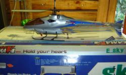Beskrywing I have an esky huter and lama helicopters