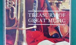 """Treasury of Great Music"" 12,LP. Boxed Set. R100-00."