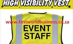 Assorted Safety clothing custom made of different