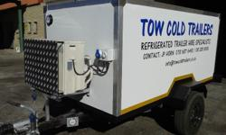 Refrigerated trailers for hire!!! We have a range of