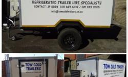 WE HAVE A RANGE OF INSULATED REFRIGERATED TRAILERS FOR