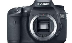 Refurbished Canon EOS 7D Body - R15799 18 Megapixel