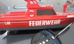 Firefighter Remote Control Boat