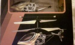 3.5 channel RC Ninja Helicopter still in box. Build in