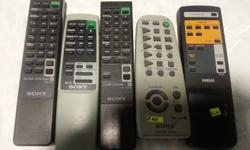 Samsung AA59-00312D tv R100. Philps vcr/tv remote (no
