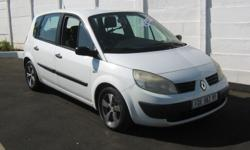 RENAULT SCENIC  1,6 5 SPEED MANUAL SERVICE HISTORY
