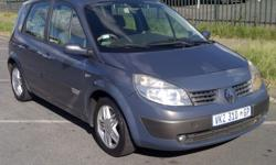RENAULT SCENIC 2007 1.6LITRE 6SPEED MANUAL E/W P/S A/C