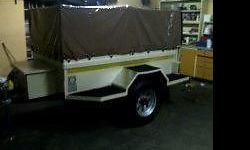 Trailer rubberized in and out, New galvanized floor,