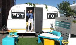 RETRO CARAVAN TO HIRE/RENT Perfect for festival