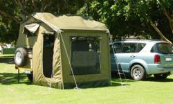 Rhino 4x4 Trailer for sale R45000.00, rooftop tent, add