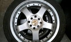 Hi i have two 17inch 7j Zaxclassic rims with tyres with