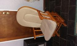 Rocking chair for sale with cushions