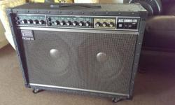 This amp is in mint, like new condition. It is the