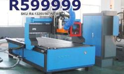 PowerRoute 1300�2500mm 9kW Spindle CNC Router with
