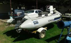 Still in a very good condition.50 HP Yamaha motor plus