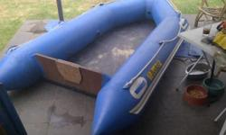 3 meter rubberduck boat fold up floor met 44 trust