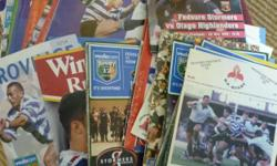 Beskrywing Tema: Sports 64 ASSORTED RUGBY PROGRAMMES