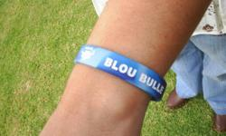 Beskrywing Good quality silicon supporter wristbands.