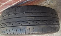 40% TREAD LEFT GOOD FOR SPARE OR TO KEEP FOR EMERGENCY