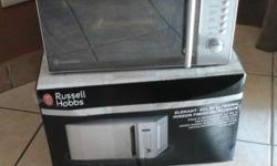 Russell Hobbs 20l microwave for sale. 4 months old