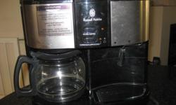 Russell Hobbs 3-in-1 coffee machine hardly used. No